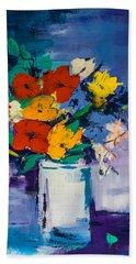 Bouquet Joyeux  Bath Towel by Elise Palmigiani