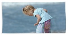 Hand Towel featuring the photograph Joys Of Childhood by Fraida Gutovich