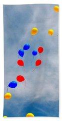 Julian Assange Balloons Bath Towel