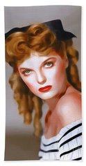 Julie London, Vintage Actress Hand Towel