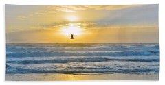 July 30 Sunrise Nh Hand Towel