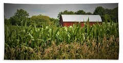 0020 - July Corn Hand Towel