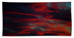July Sky Bath Towel by Jesse Ciazza