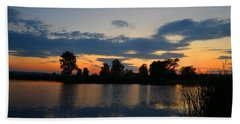 July Sunset Hand Towel