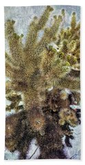 Jumping Cholla Bath Towel