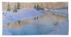 Junction Creek Bath Towel