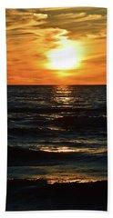 June 21 - 2017 Sunset At Wasaga Beach  Hand Towel