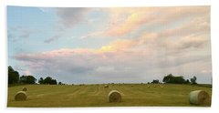 June Hay Hand Towel by Christine Lathrop
