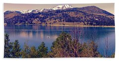 June Lake Panorama Bath Towel