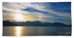 Juneau, Alaska Bath Towel