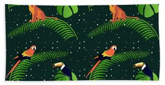 Jungle Fever Hand Towel