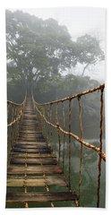 Jungle Journey 2 Hand Towel by Skip Nall