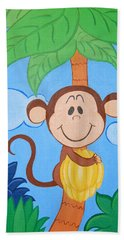 Jungle Monkey Hand Towel