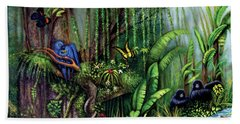 Jungle Talk Hand Towel