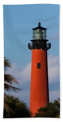 Jupiter Inlet Lighthouse Hand Towel
