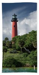 Jupiter Inlet Lighthouse Bath Towel