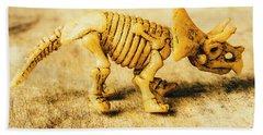 Jurassic Toy Triceratops Bath Towel