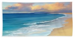Just Beachy Bath Towel by Anthony Fishburne