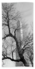 Hand Towel featuring the photograph Just Before Spring by John S