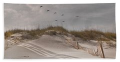 Just For You Outer Banks Nc Hand Towel by Betsy Knapp