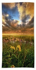 Just Moving Slow Bath Towel by Phil Koch