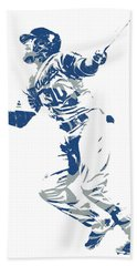 Justin Turner Los Angeles Dodgers World Series Homerun Hand Towel
