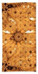 Bath Towel featuring the digital art Juxtapose by Ron Bissett