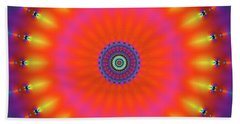 Jyoti Ahau 184 Bath Towel by Robert Thalmeier