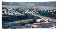Kahiltna Glacier Hand Towel