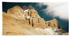 Kailas Kora Himalayas Mountain Tibet Yantra.lv Bath Towel