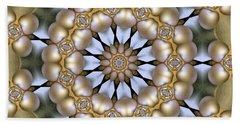 Bath Towel featuring the digital art Kaleidoscope 130 by Ron Bissett