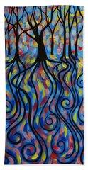 Kaleidoscope Forest Hand Towel
