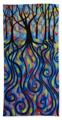 Kaleidoscope Forest Bath Towel