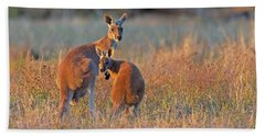 Kangaroos Hand Towel