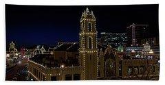 Kansas City Plaza Lights Hand Towel