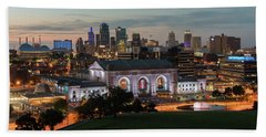 Kansas City Summer Sunset Hand Towel