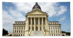 Kansas State Capitol Building Bath Towel