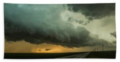 Kansas Storm Chase Bust Day 004 Hand Towel