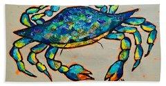 Karl The Crab Bath Towel
