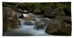 Katahdin Stream In The Shade Bath Towel