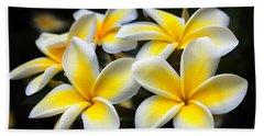 Kauai Plumerias Large Canvas Art, Canvas Print, Large Art, Large Wall Decor, Home Decor, Photograph Hand Towel