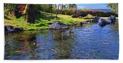 Kauai Serenity Hand Towel by Marie Hicks