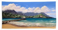 Kauai Surf Paradise Hand Towel