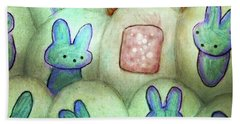 Kawaii Hatchery Crop Bath Towel