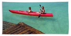 Kayaking Perfection 1 Bath Towel