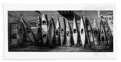 Kayaks And Canoes Bath Towel