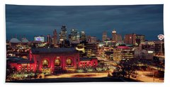 Kc Chiefs Skyline Hand Towel