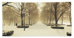 Kc Snow With Parisian Flare Bath Towel