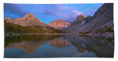 Kearsarge Lake Twilight Hand Towel