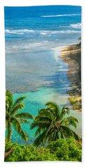 Kee Beach Kauai Bath Towel
